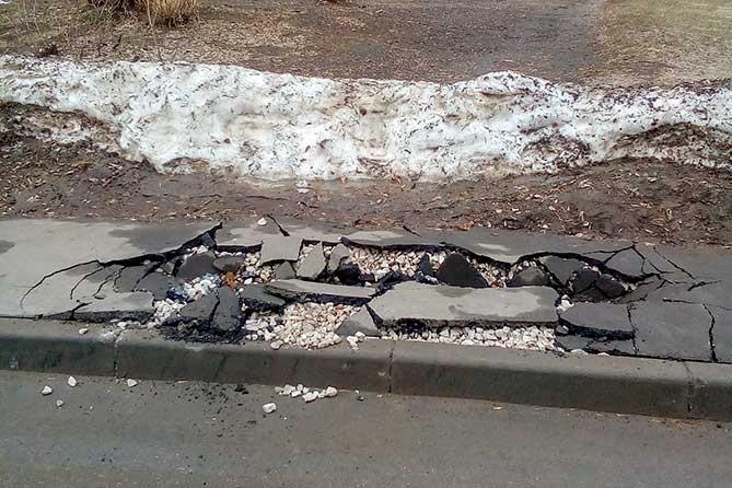 В Тольятти начался объезд гарантийных дорог, отремонтированных в последние пять лет