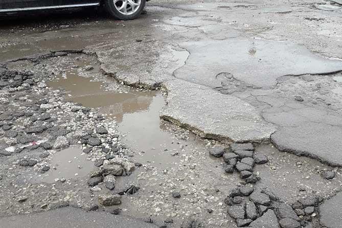 ГИБДД Тольятти: Самые разбитые дороги 2019