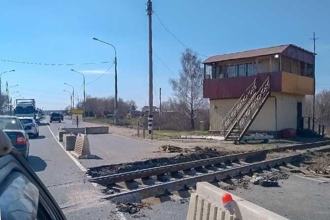 На автодороге М-5 под Тольятти временно ограничено движение