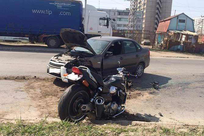 Два ДТП с участием мотоциклов в Тольятти: Погиб пассажир