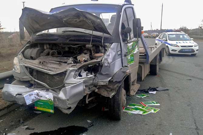 В Тольятти 8 апреля 2019 года водитель автомобиля скончался на месте ДТП