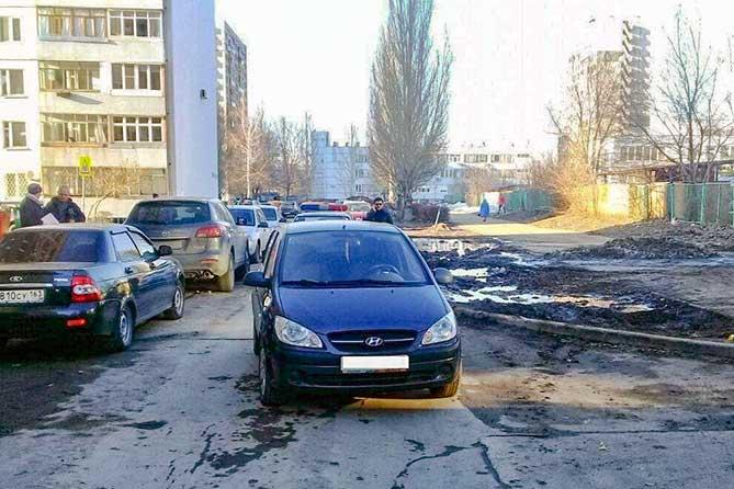 В жилой зоне Тольятти 9 апреля 2019 года пострадала 8-летняя девочка