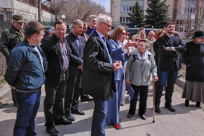 Выездное совещании комитета по здравоохранению прошло в Портпоселке Тольятти