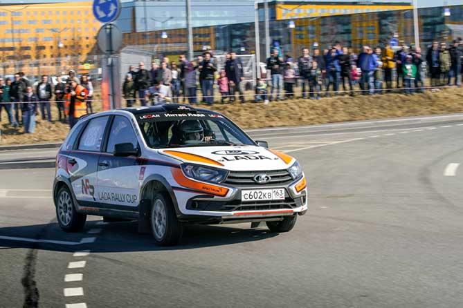 LADA Rally Cup: весенний «Ралли Спринт» в Санкт-Петербурге