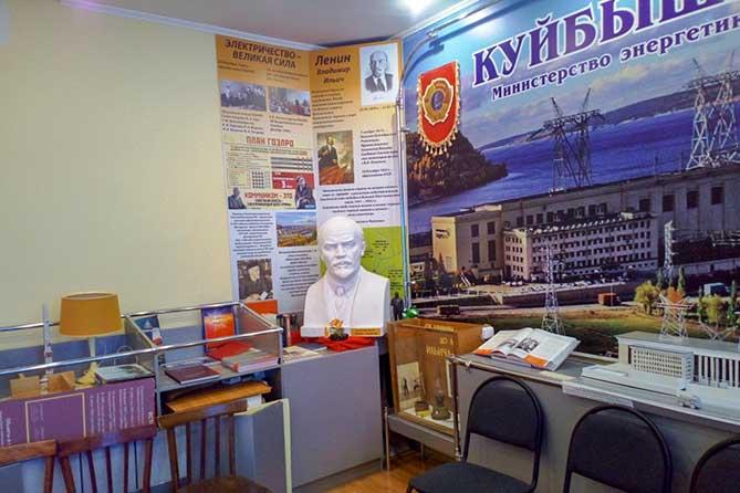 В Тольятти 19 апреля 2019 года открыли памятную экспозицию, посвященную Владимиру Ильичу Ленину