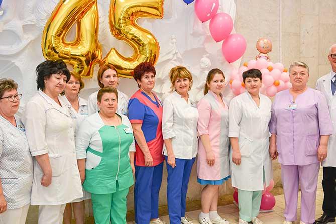Родильный дом Тольяттинской городской клинической больницы №5 отметил 45-летие