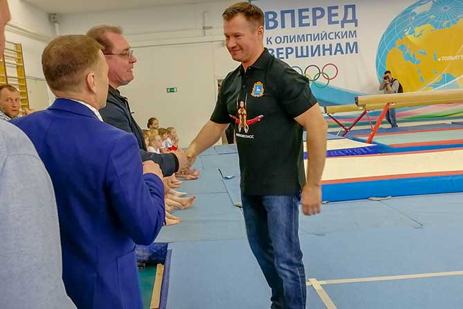 Алексей Немов провел мастер-класс в Тольятти 27 апреля 2019 года