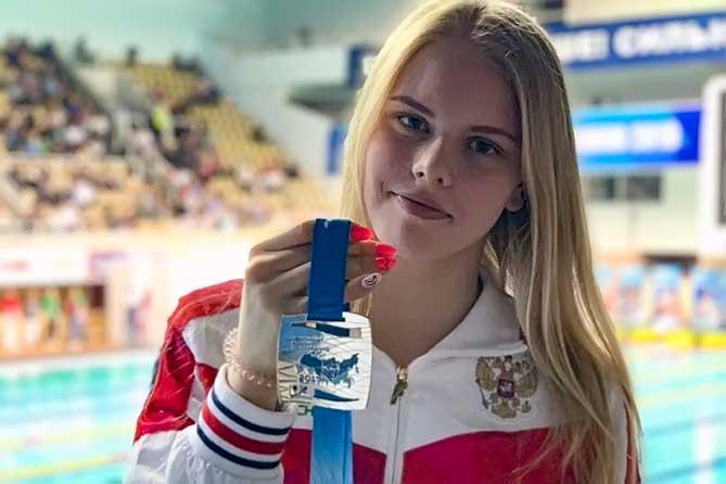 Поздравляем тольяттинку Чичайкину Софью с серебряной медалью на Чемпионате России