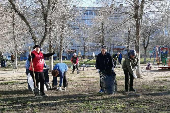 В Тольятти прошел первый общегородской субботник 20 апреля 2019 года