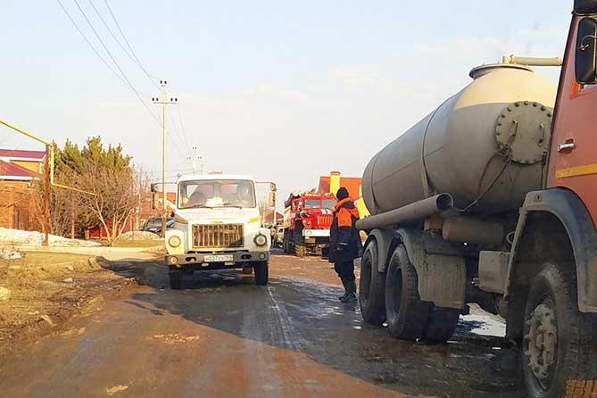 В Тимофеевке произошло подтопление талыми водами с поля 11 приусадебных участков