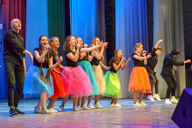 Концертная программа «Живет на планете народ веселый — дети» в КЦ «Автоград» 14 апреля 2019 года