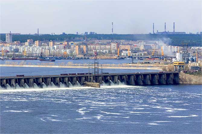 Уровень воды у Тольятти – 49,67 метра, что ниже значения 2018 года на 2,62 метра