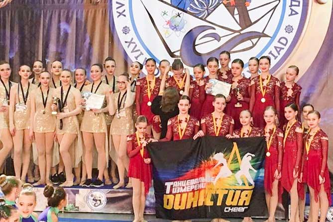 Спортсмены по чир спорту из Тольятти стали призерами Всемирной танцевальной олимпиады 2019