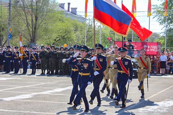 В Тольятти 9 мая 2019 года прошел парад, посвященный Дню Победы