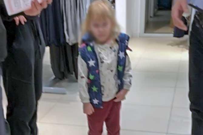 Полицейские Тольятти разыскали 3-х летнюю девочку, пропавшую в одном из ТЦ города 1 мая 2019 года