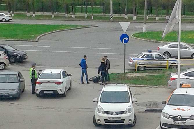 В Тольятти на улице Юбилейной под колеса автомобиля попал велосипедист