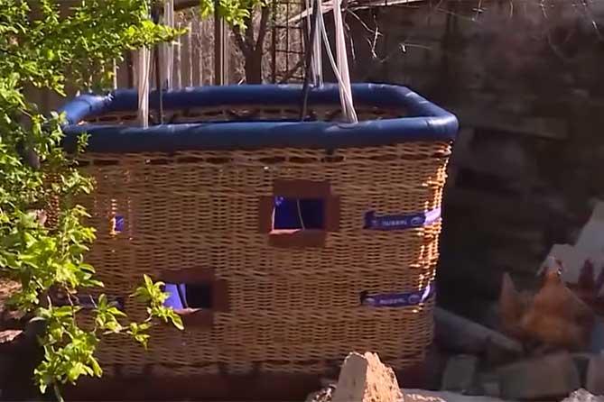 Унесло воздушный шар: В корзине оказалась девочка из Самарской области