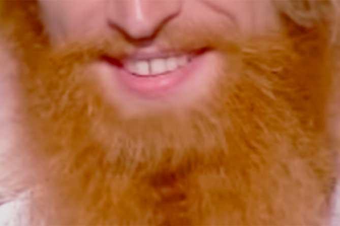 Его ярко-рыжую бороду трудно спутать: Показал свой тайник в овраге