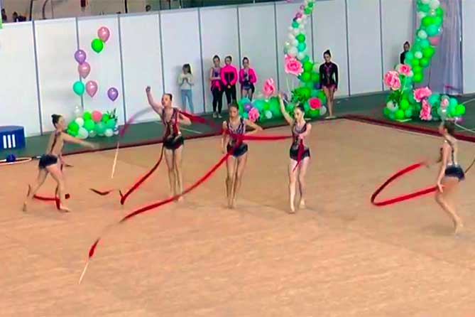 С 4 по 7 мая 2019 года в Тольятти пройдет областное первенство по художественной гимнастике и открытые соревнования Тольятти