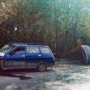 Сбил остановку, затем врезался в столб: В Тольятти пострадал водитель ВАЗ-2111