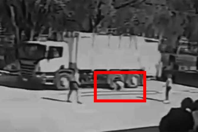 В Тольятти водитель мусоровоза наехал на мальчика в школьном дворе 8 мая 2019 года
