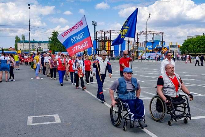В Тольятти 9 мая 2019 года прошла легкоатлетическая эстафета, посвященная Дню Победы в Великой Отечественной войне