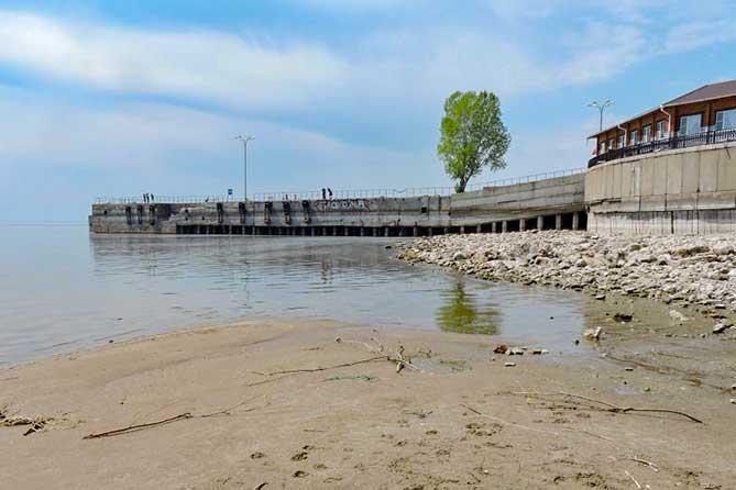 Обмеление Волги грозит Тольятти снижением количества и качества питьевой воды
