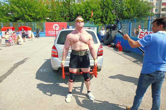 В Тольятти состоялся Чемпионат по силовому многоборью «Богатырские игры» 2019