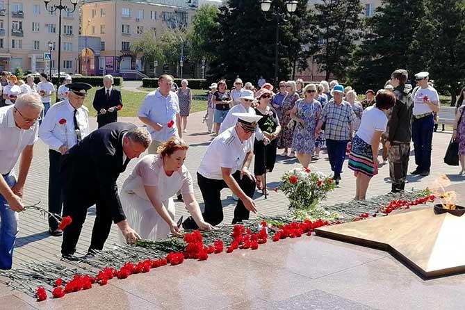 День памяти и скорби в Тольятти 22 июня 2019 года