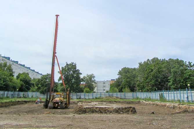 В Тольятти началось строительство физкультурно-оздоровительного комплекса на бульваре Кулибина