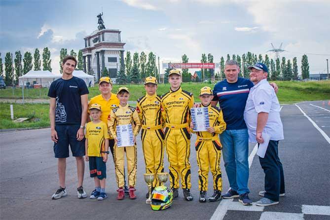 LADA Sport ROSNEFT: три «серебра» из Курска