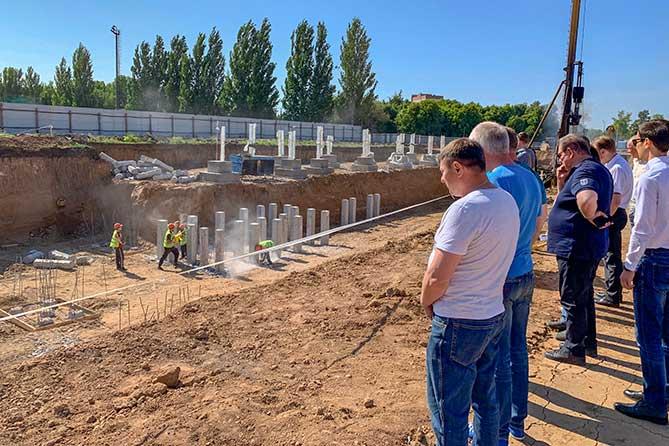 Глава Тольятти Сергей Анташев 7 июня 2019 года провел объезд объектов, возводимых к 50-летию АВТОВАЗа