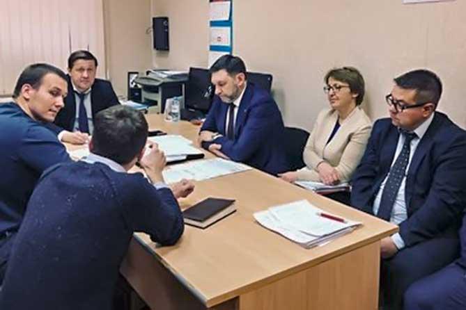 встреча в министерстве