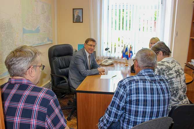 Николай Остудин провёл приём граждан в июне 2019 года