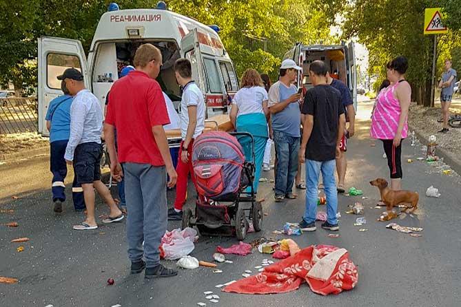 В Тольятти на пешеходном переходе пострадал мальчик 21 июня 2019 года