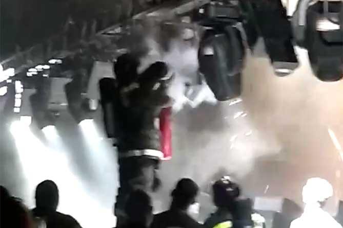 Пожарные выезжали на «Лада-Арена» во время концерта 8 июня 2019 года