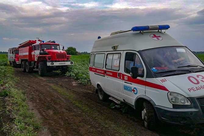 На поле под Тольятти совершил жесткую посадку самолет 28 июня 2019 года