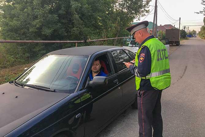 Рейды ГИБДД на дорогах Ставропольского района в июне 2019 года