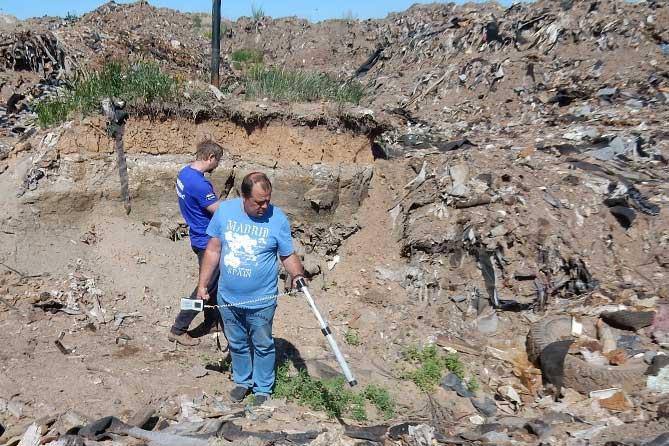 В Тольятти 7 июня 2019 года проведены повторные замеры радиационного фона территории свалки