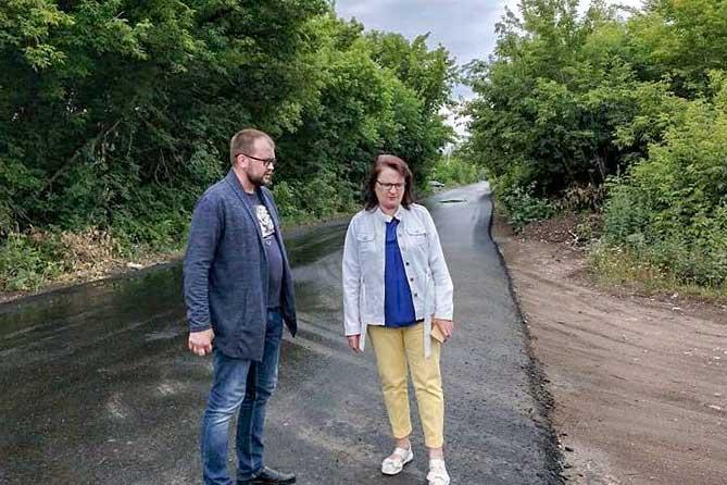В Тольятти проинспектировали ход ремонта улиц Полякова и Фермерской