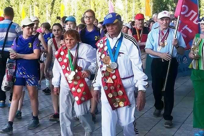 Праздничное шествие в Тольятти: XVIII Детский фестиваль гандбола