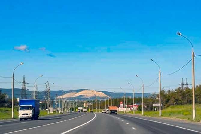 Работы на автодороге Тольятти — Узюково — Димитровград в 2019 году