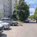 В Тольятти на улице Льва Толстого водитель автомобиля сбила 14-летнюю велосипедистку
