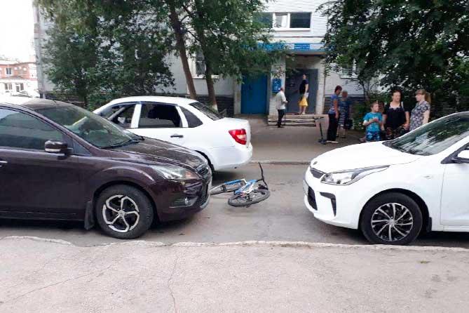 ДТП в жилой зоне Тольятти: В случае установления вины 10-летнего велосипедиста будут приняты меры к подростку и его родителям
