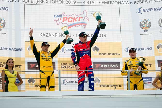 Пилот команды резидента «Жигулевской долины» Тольятти одержал победу на трассе KAZAN Ring
