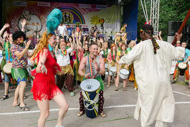 Под Тольятти состоялся 16-й фестиваль «Барабаны мира-2019»