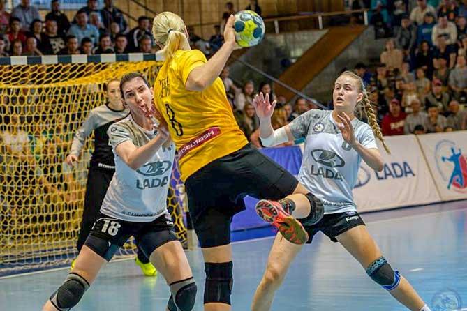 Гандбольная команда «Лада» готовится к игре за Суперкубок России 2019
