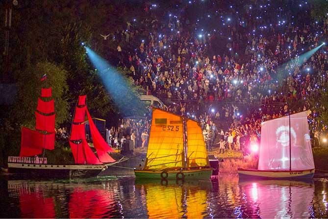 В первый день Грушинский фестиваль 2019 посетило свыше семи тысяч человек