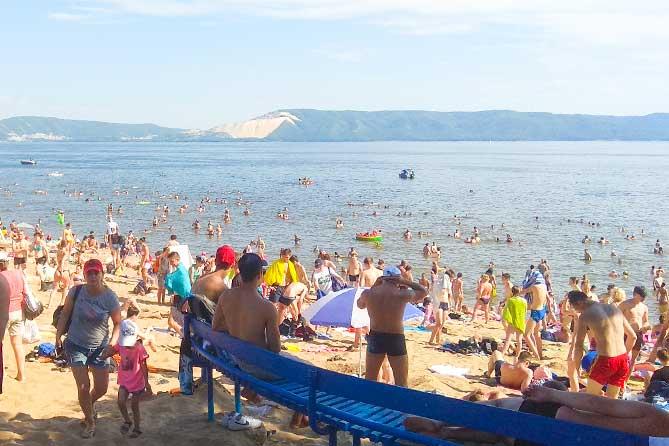 19-07-2019: Купаться на пляжах Тольятти разрешено
