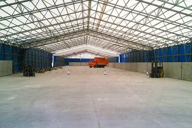 Порт Тольятти запустил в работу универсальный складской комплекс